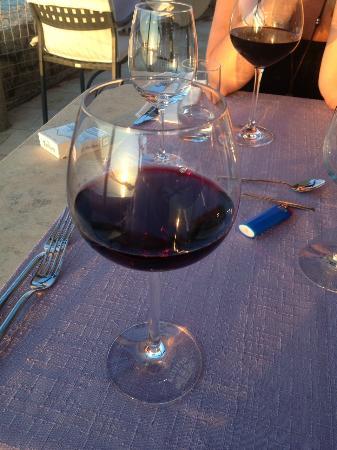 """Villa Ruza Old City Bistro: Croatian red wine """"Plavac Mali"""", Villa Ruza"""