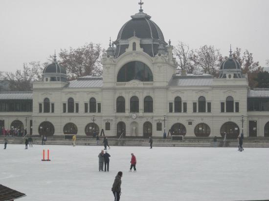 Corinthia Hotel Budapest: ice skating