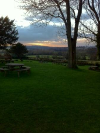 The Griffin Inn: The view from the garden