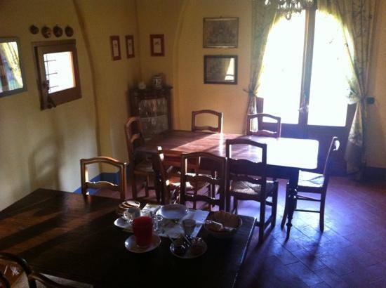 Al Giardino degli Etruschi: La sala colazioni
