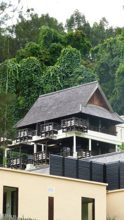Gaya Island Resort: Typical villa