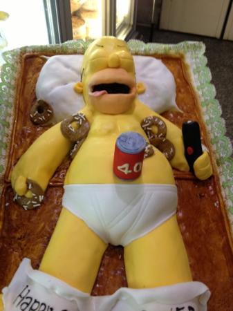 Pasticceria Oscar: Homer ubriaco by Oscar!!