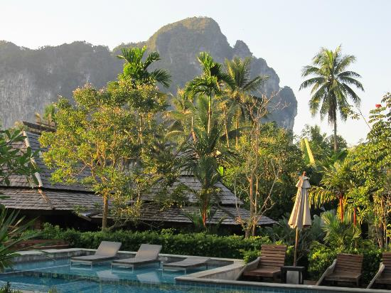 Ao Nang Phu Pi Maan Resort & Spa: View from the pool area