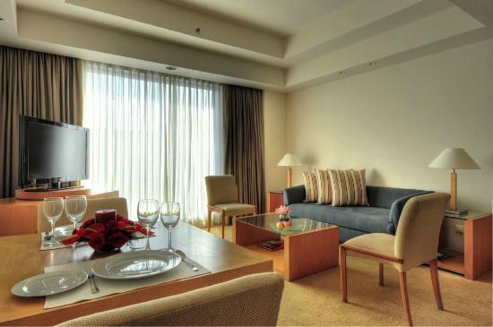Residences living room picture of grand hyatt mumbai - The living room mumbai maharashtra ...