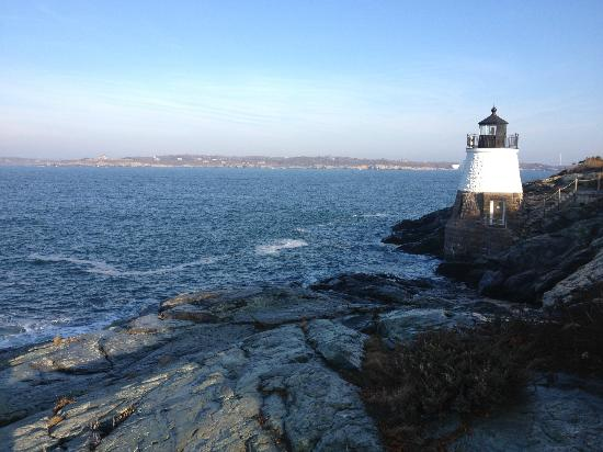 Castle Hill Inn : Lighthouse on property