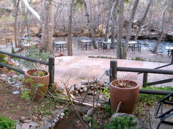 "L'Auberge de Sedona : A ""Dining room with a view'!"