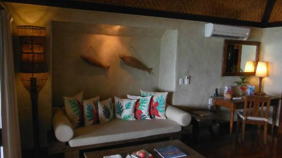 Pacific Resort Aitutaki: nicely furnished