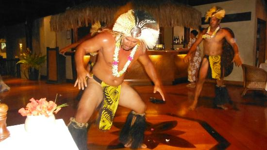 ‪‪Pacific Resort Aitutaki‬: Island night dancers.
