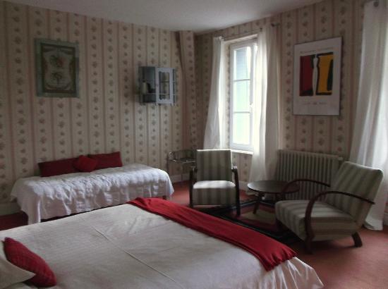 Chambon-sur-Voueize, França: chambre triple