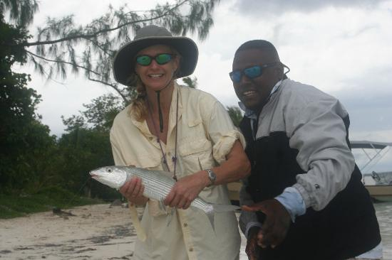 Belcampo Lodge: Nice bonefish from Sapodilla Cayes
