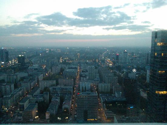 InterContinental Hotel Warsaw: view from the lounge