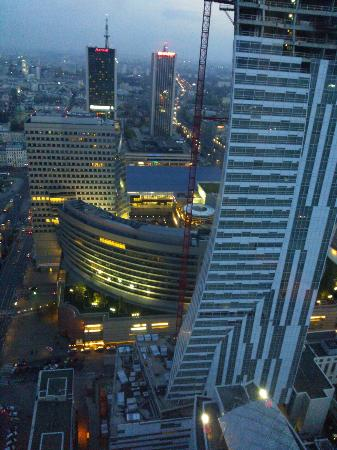 InterContinental Warszawa: view from the lounge