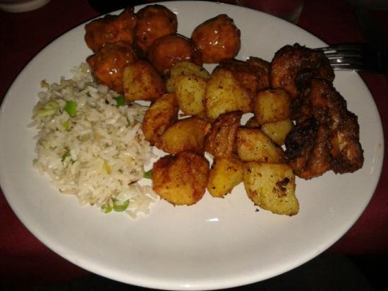 Hotel Parkside: polpettine, riso e patate al forno