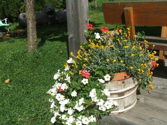 Bacherhof: Giardino