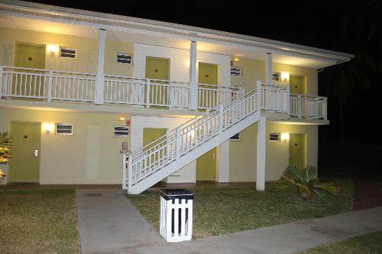 Hotel Le Recif: batiment des chambres