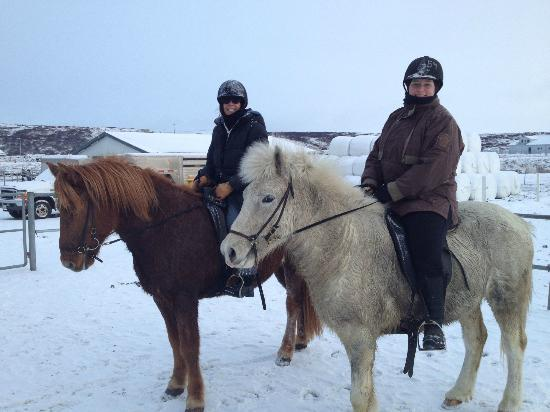Ishestar Horse Riding Tours: Halkan and Gunilla