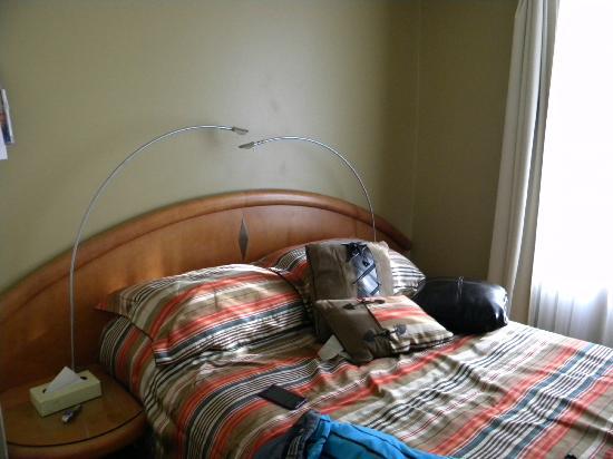 Auberge Le Pomerol: letto
