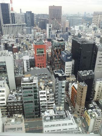 Mitsui Garden Hotel Ginza Premier: Vistas desde el piso 23, habitación superior