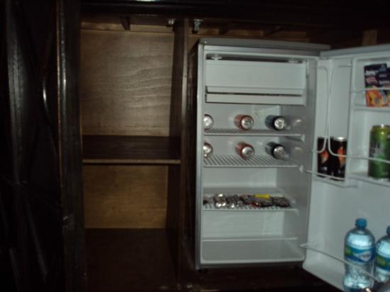 Hacienda Paradise Boutique Hotel by Xperience Hotels: Mini fridge