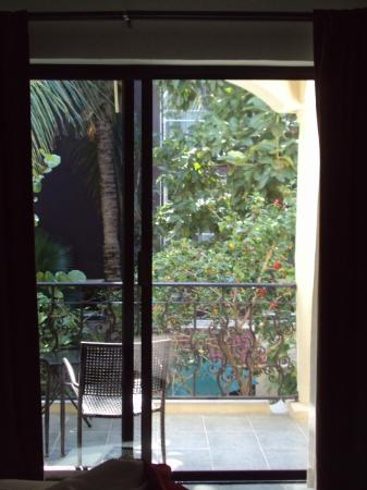 Hacienda Paradise Boutique Hotel by Xperience Hotels: View of the balcony from bed