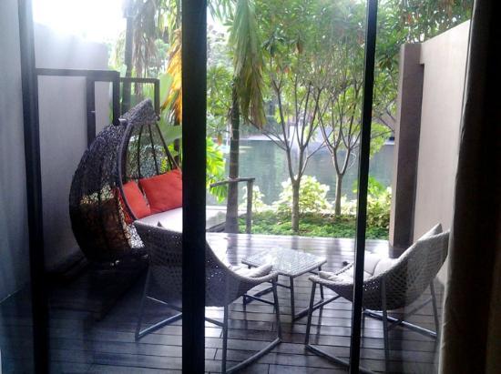 Dasada The Flower Essence Resort: 部屋から