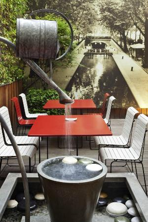 Ibis Paris Gare de Lyon Reuilly : Patio