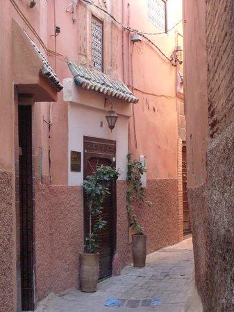 Riad Marana: porta d'ingresso