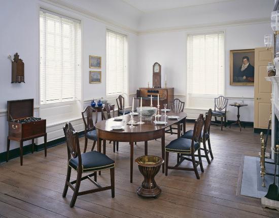 Woodford Mansion: Dining room