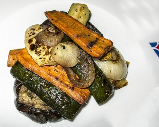 YCCS - Yacht Club Costa Smeralda: Grilled Vegetables with Fabio's Special Olive Oil