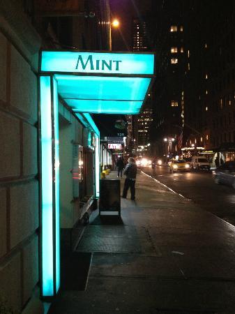 Mint: Sexy restaurant