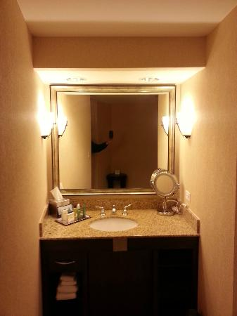 Hilton Chicago/Oak Lawn: Bath Sink