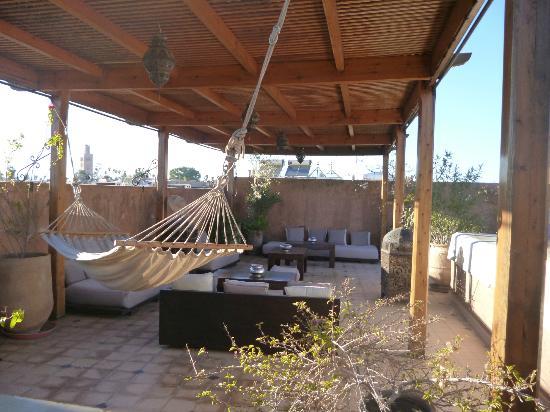 Casa Lalla: terrasse