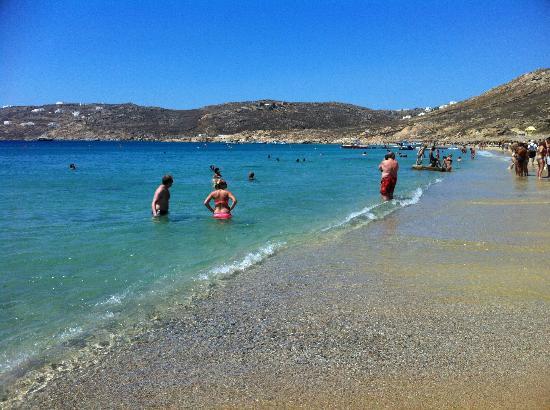 Mykonos Grand Hotel & Resort: Spiaggia hotel