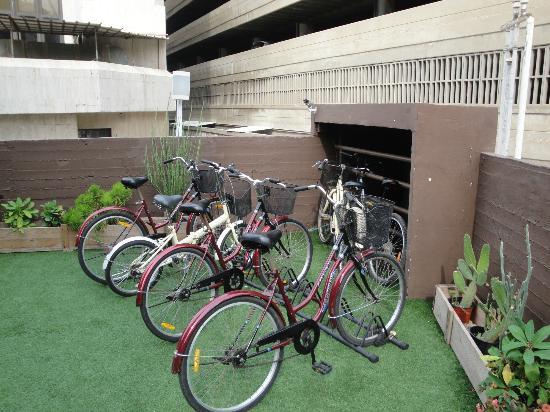 Brown TLV Urban Hotel: Get a loaner bike.