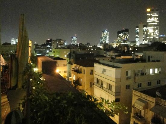 Brown TLV Urban Hotel: View from rooftop bar.