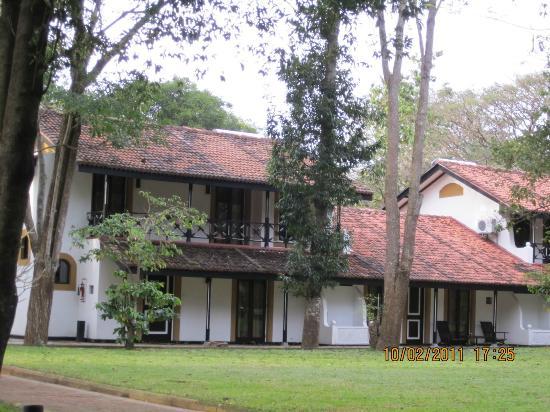 Cinnamon Lodge Habarana : View of the cottage