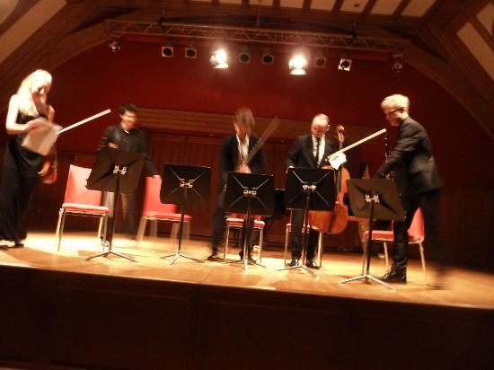 Schloss Elmau: Concert in Auditorium