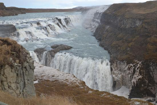 Golden Circle Route: Waterfall