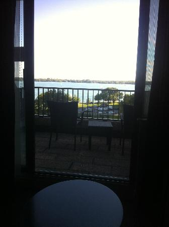 The Westin Harbour Castle: Terrace room view of the Harbour