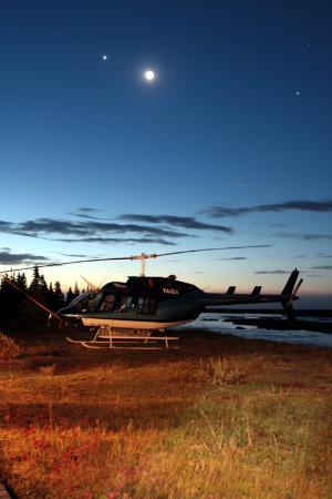 Kaska Goose Lodge: Helicopter Based On-site