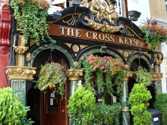 The Cross Keys London 31 Endell St Covent Garden