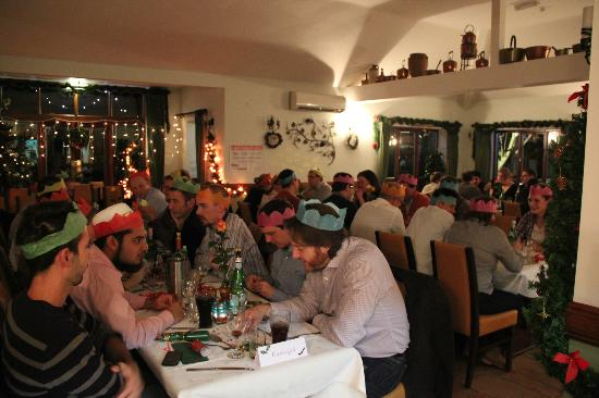 La Pergola: Christmas Party - great food, atmosphere, music and service!