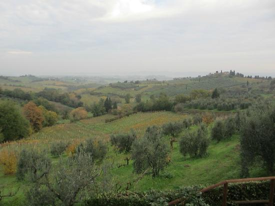 View from I Coppi