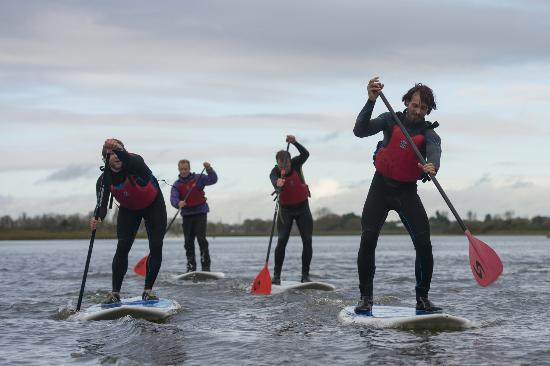 Hengistbury Head Outdoor Education Centre: Why not try Paddle Boarding at Hengistbury Head Outdoor Centre