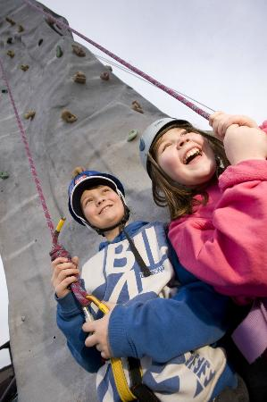 Hengistbury Head Outdoor Education Centre: We have climbing facilities