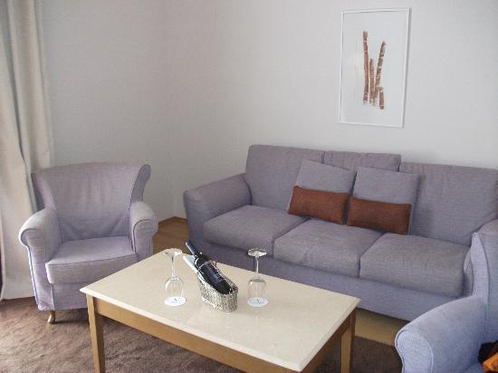 هوتل إكسلسيور: Our lounge 
