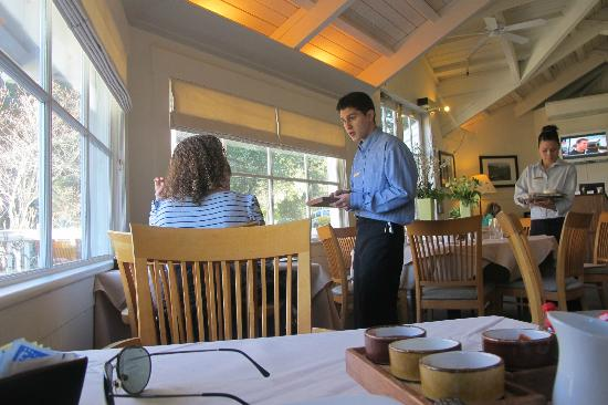 Meadowood Napa Valley: Breakfast Room