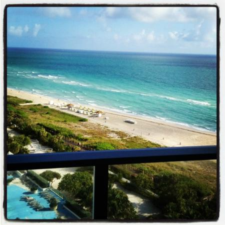 W South Beach: Lovely view from a lovely property.