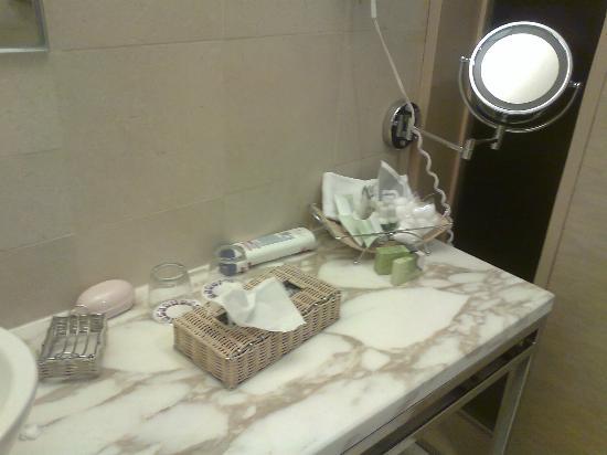 Hotel Camino Real Santa Fe Mexico : baño