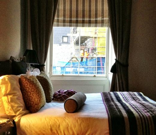 Fraser Suites Edinburgh: Your early morning call!